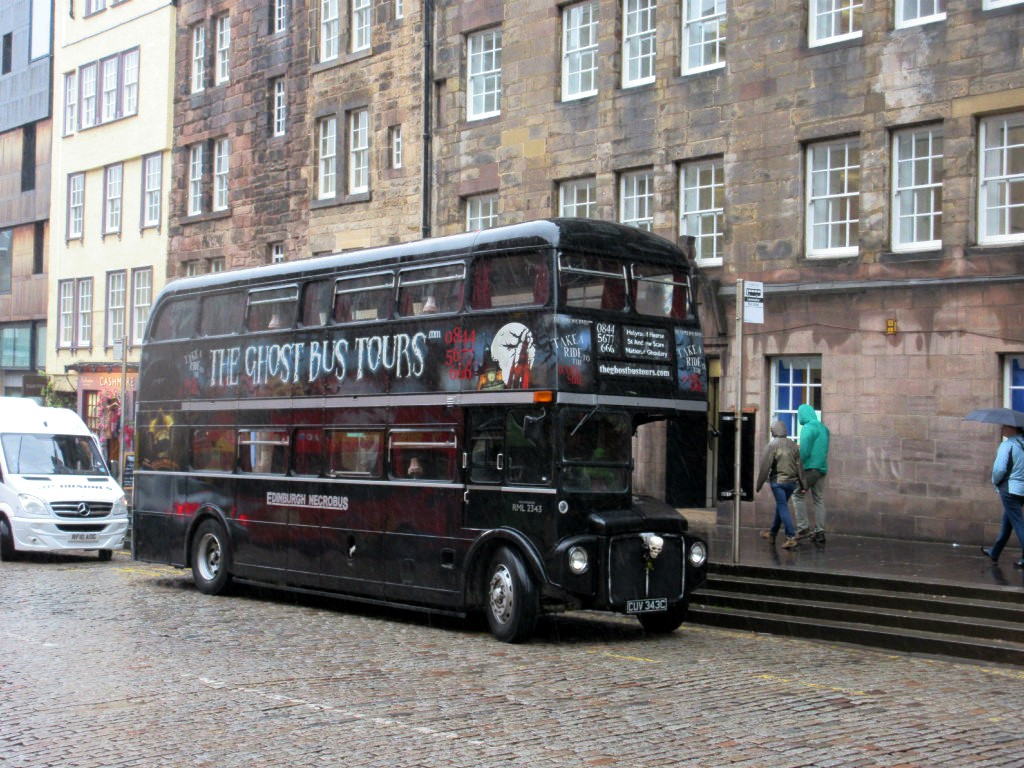 Ghost tour Edinburgh
