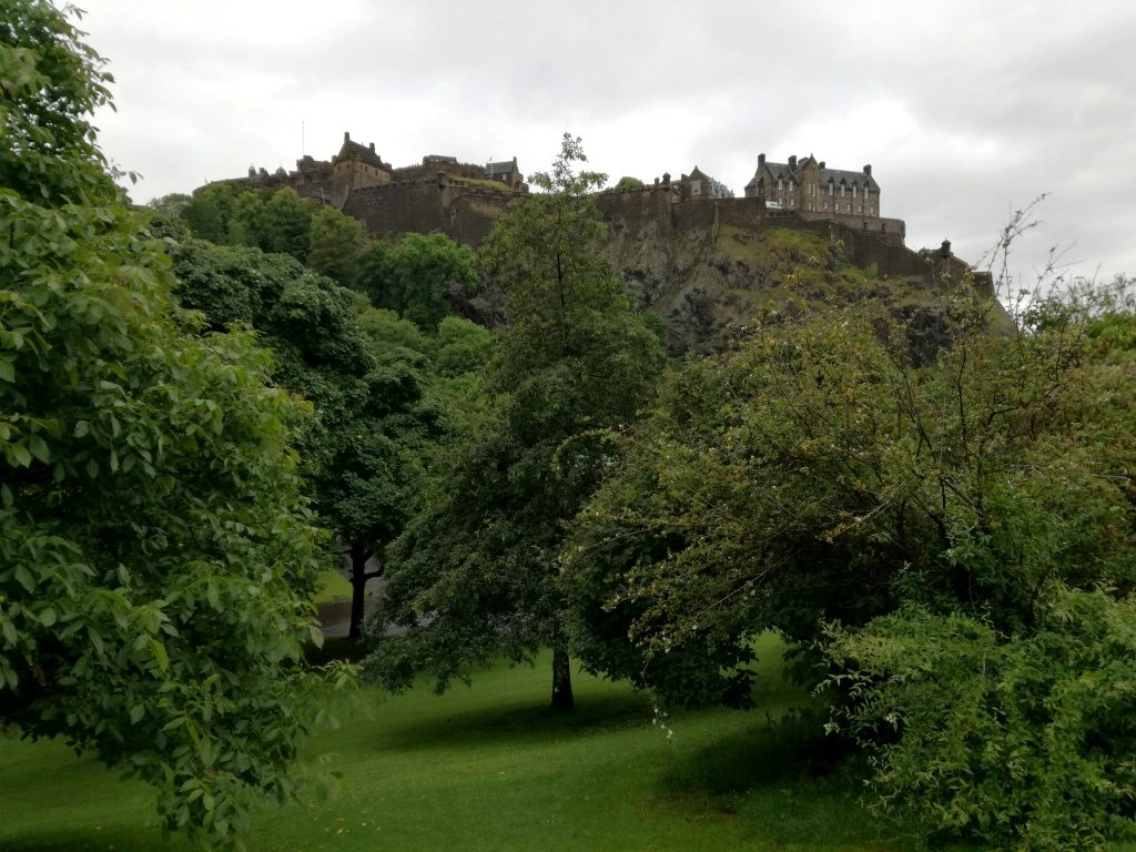 Princess Street Gardens Edinburgh